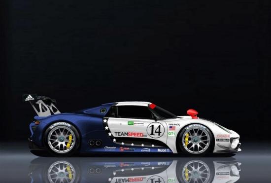 Появиха се силни рендер снимки на Porsche 918 RSR