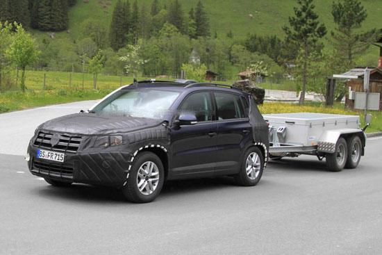 Volkswagen модернизира кросоувъра Tiguan