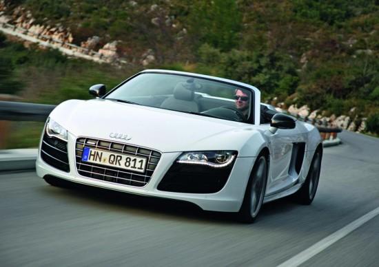 Audi пуска R8 Spyder с 4.2 V8