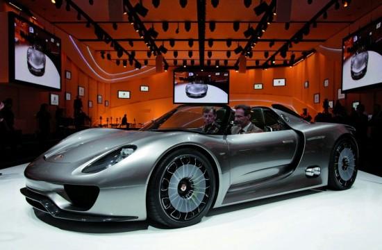 Най-скъпият модел на Porsche ще бъде 918 Spyder