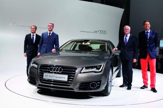 В Мюнхен дебютира елегантния Audi A7 Sportback