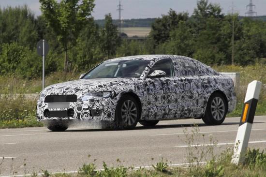 Новата A6-ца на Audi излезе на тестове