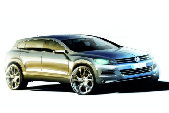 Новият VW Touraeg R ще бъде хибрид?