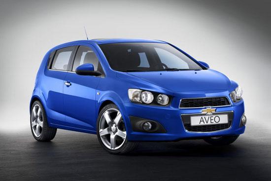 Серийната версия на 2011 Chevrolet Aveo