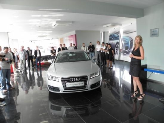 Премиера в България: Audi A7 Sportback