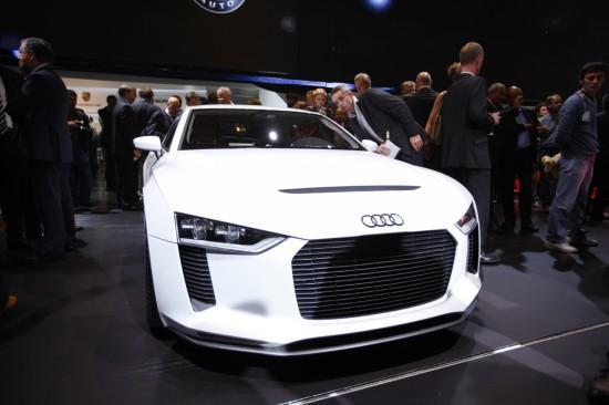 Сензационния концепт на Audi в Париж 2010