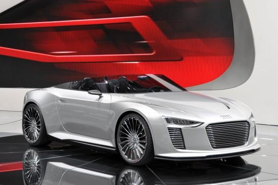 Премиерата на концепта Audi e-Tron Spyder