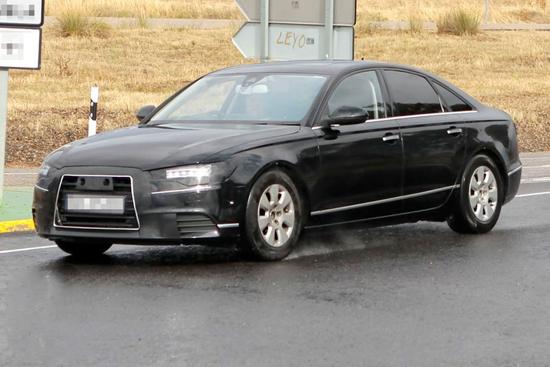 Новата А6-ца на Audi отново пред обектива