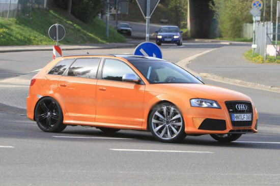 Audi ще изкара от RS3 мощност 350 к.с.