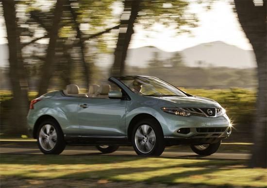 Nissan Murano остана без покрив. Да не би да ви хареса?