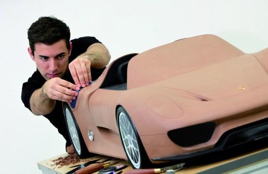 Нов модел на Porsche за изложението в Северна Америка