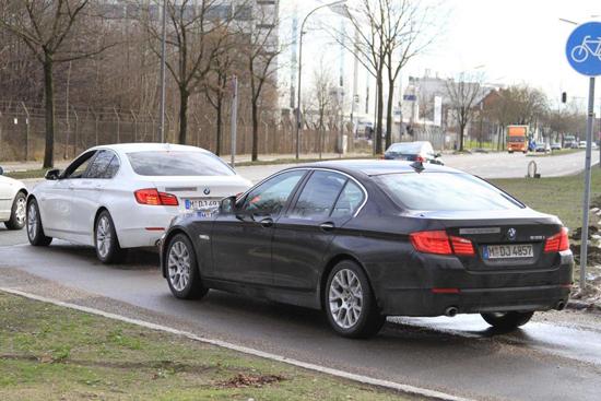 BMW стартира тестовете на 5-а Серия ActiveHybrid