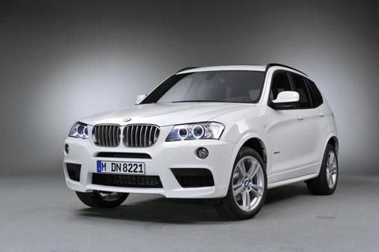 BMW ще дебютира X3 M-Sports в Детройт