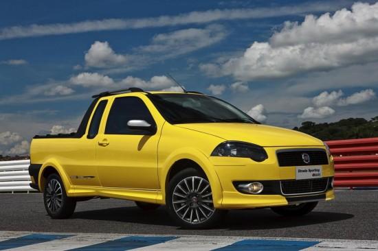 Fiat пуска на бразилския пазар Strada Sporting
