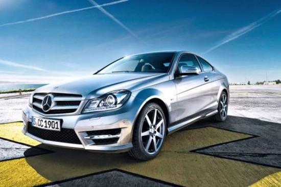 Първите официални снимки на Mercedes C-Class Coupe