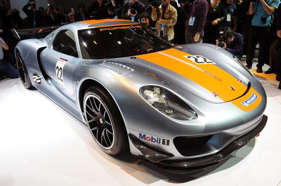 Детройт 2011: Porsche 918 RSR ще покори пистите