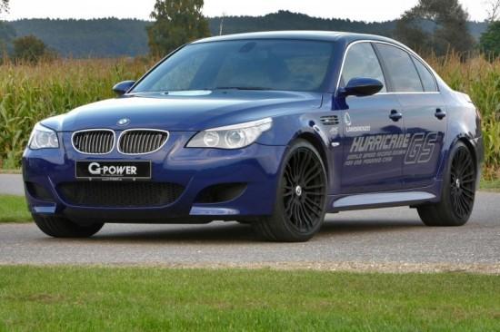 G-POWER M5 HURRICANE GS постави рекорд за кола с газова уредба