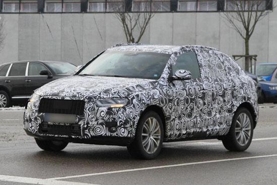 Audi изкара компактния Q3 на тестове