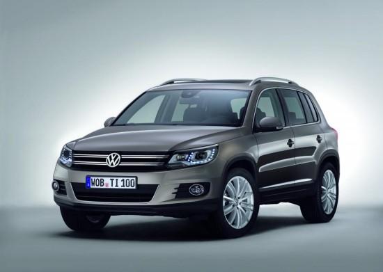 VW публикува загравящи снимки на обновения Tiguan
