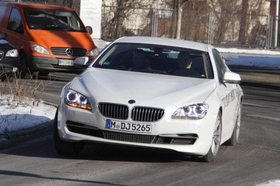 Новото BMW 6-а Серия Купе щяло да има стъклен панорамен покрив . . .