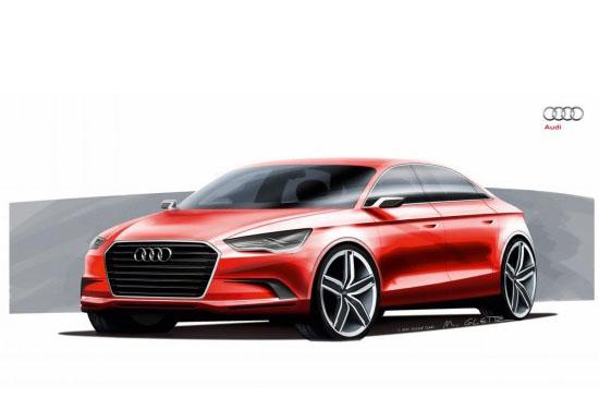 Концептуален Audi A3 седан ще се появи в Женева