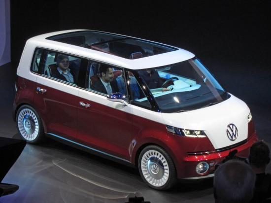 Женева 2011: VW възроди хипарското бусче T1 с Bulli