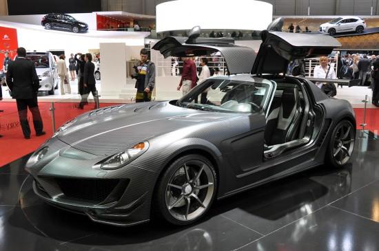 Женева 2011: Наистина ли ви прилича на Mercedes SLS?