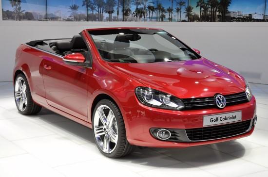 Женева 2011: VW изкара Golf кабриолет