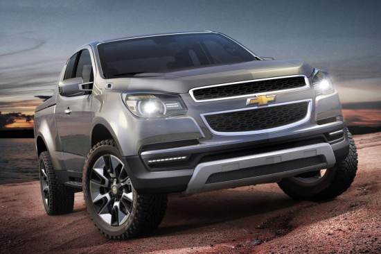 Chevrolet представи концепта Colorado