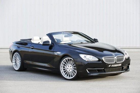 Последния тунингован автомобил от Ричард Хаман е 6-а Серия Кабриолет