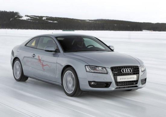Audi създаде хибридна A5-ца
