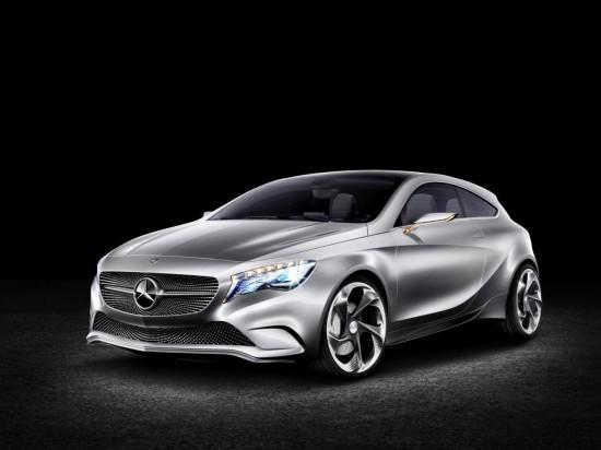 Новата звезда на Mercedes е прототипа Concept A