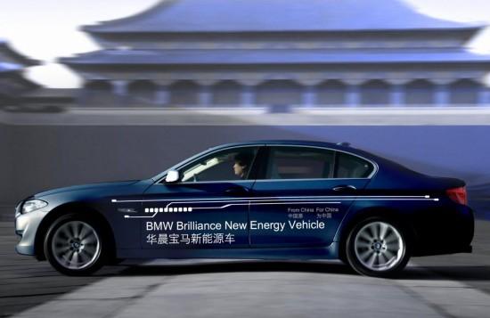 Пазара на Китай очаква хибридна и доста дълга BMW 5-а Серия