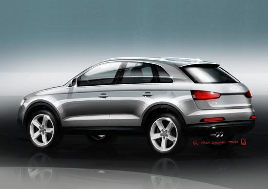 Разгледайте подгряващите снимки на новото Audi Q3