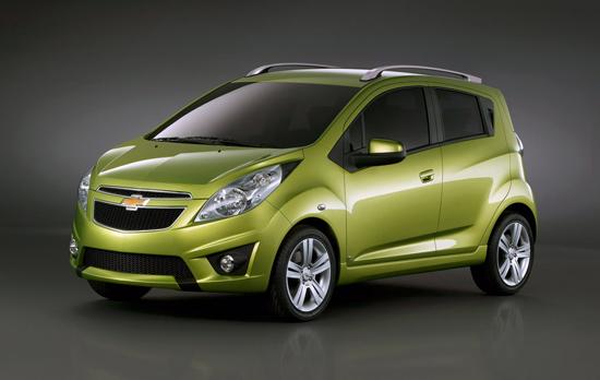 Chevrolet Spark ще дебютира в Женева
