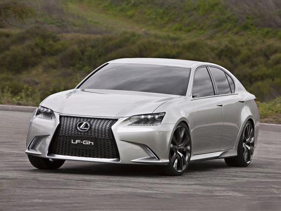 Lexus представиха концептуалния LF-Ch