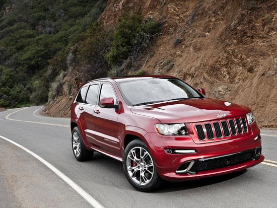 Новият Jeep Grand Cherokee SRT8 демонстрира мускули в изобилие