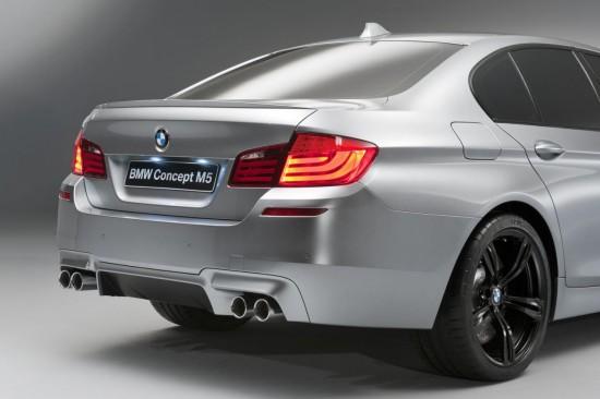 Интериора на BMW Concept M5 вече не е загадка