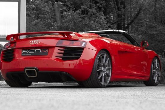 RENM се постараха Audi R8 V10 Spyder да изглежда като по-спортния GT