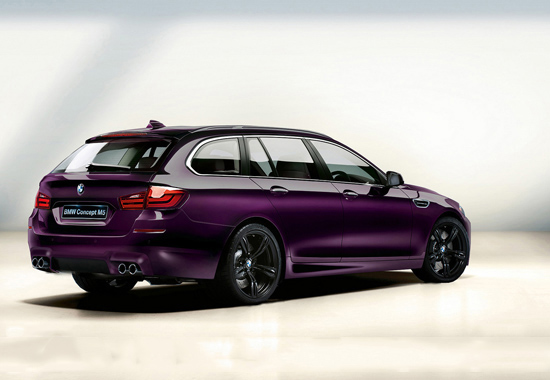 Идея как може да изглежда комбито на новото BMW M5 . . .