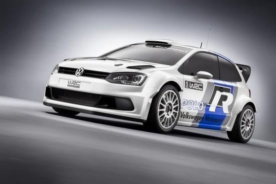 VW разкриха състезателното Polo R WRC - дебют през 2013-а