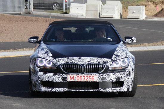 """Наближава появата на """"внушителния""""  BMW M6 Convertible"""