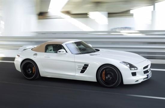 Разгледайте официалните снимки на Mercedes SLS AMG Roadster
