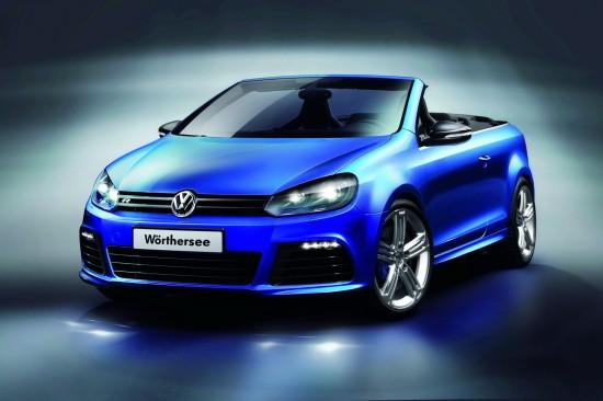 VW е готов с кабрио версията на Golf R, но засега е концепция
