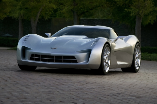 Чикаго 2009: Corvette Sting Ray концепция