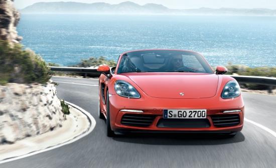 Новото Porsche,  718 Boxster!