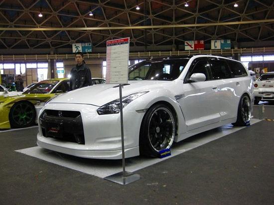 Комби версия за Nissan GT-R ?