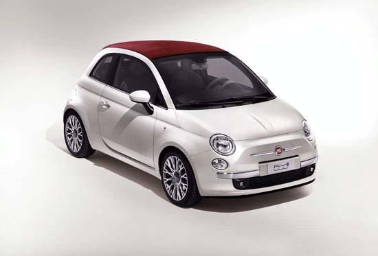 Fiat съобщи цената на 500 С за Великобритания
