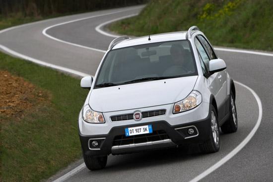 Fiat Sedici получи фейслифт