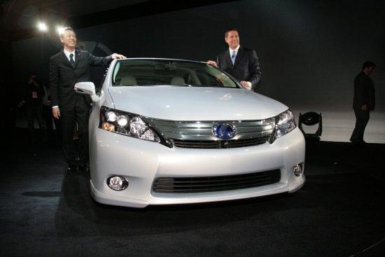 Детройт 2009: Lexus HS250h хибрид